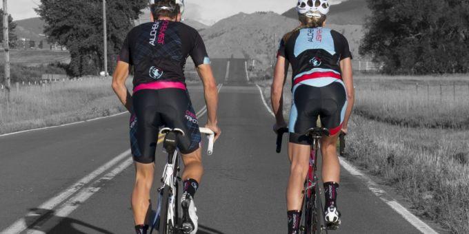 Cycling shorts padding