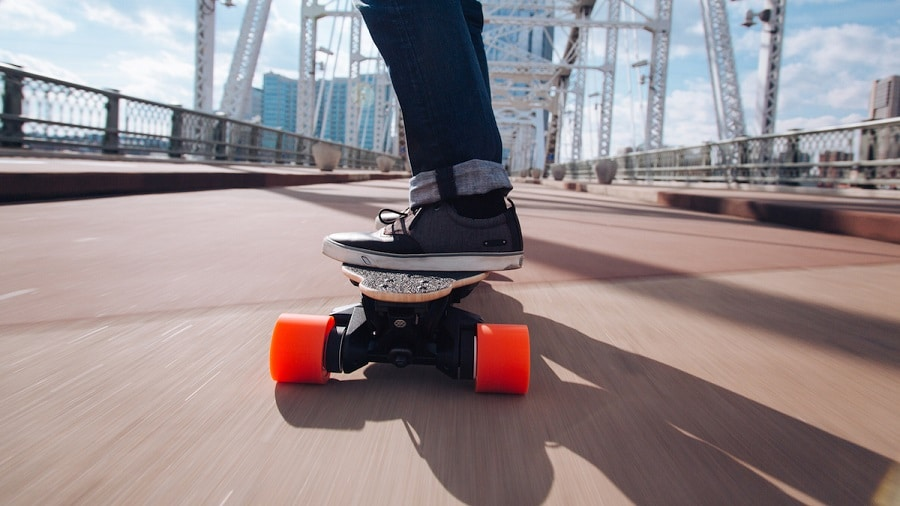 Electric Longboard features