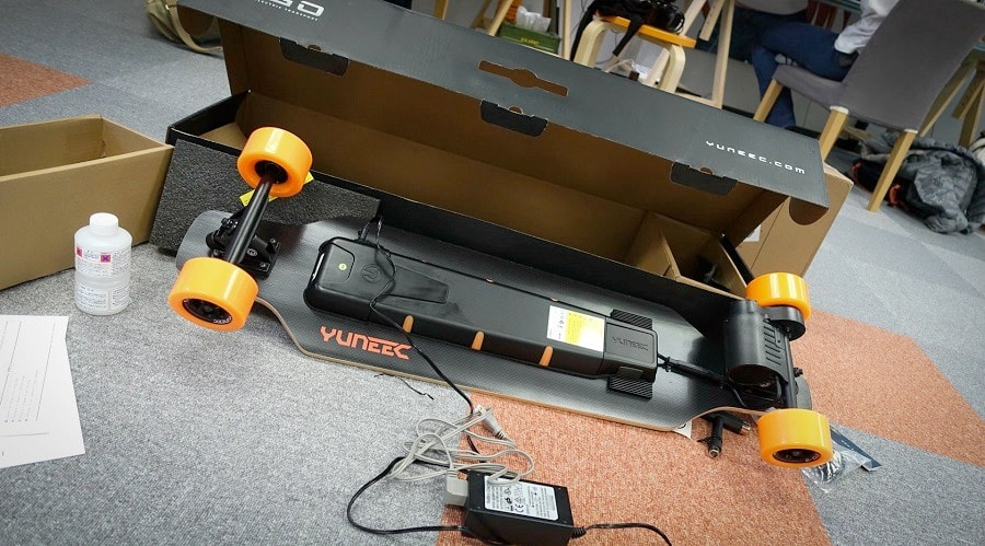 Electric Skateboard features