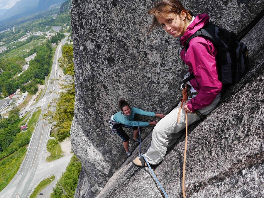Fit rock climbing pants