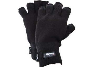 Floso Thinsulate Thermal Fingerless Glove