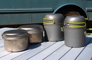 G4free Outdoor Cookware Set