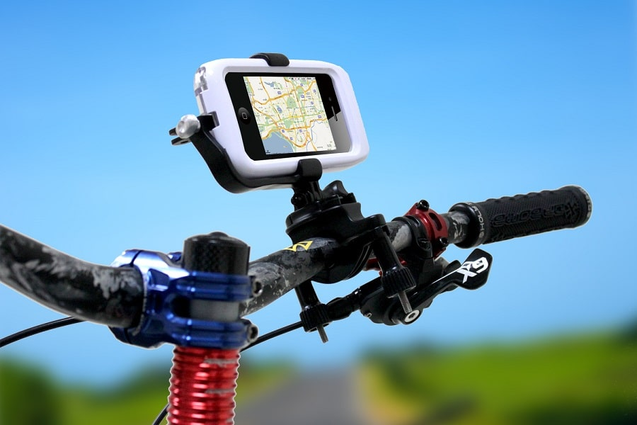 GPS on the bike