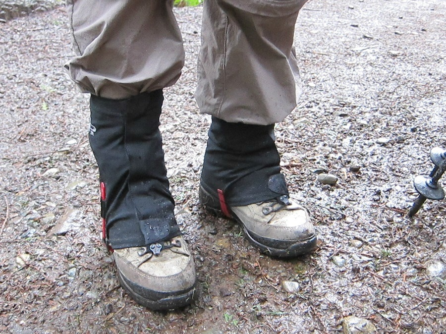 Gaiters for cold weather