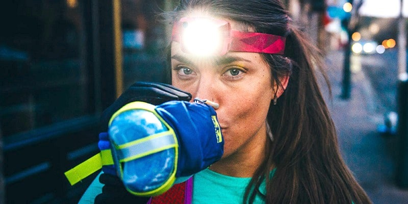 Headlamp for running