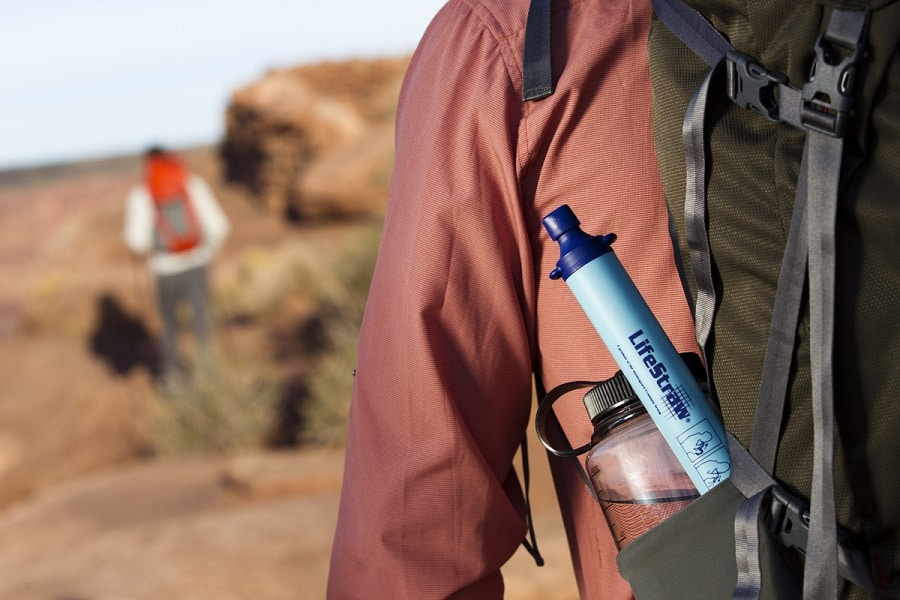 Lifestraw personal water filter size
