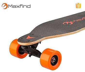 MAXFIND Board Dual Motor Wheels Electric Skateboard Longboard