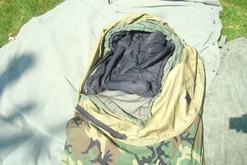 Military modular sleep system 4 piece with Gore-Tex