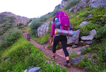 Mountain Hardwear Ozonic 58 Outdry Backpack Womens