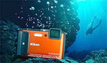 Nikon COOLPIX AW130 Waterproof Digital Camera