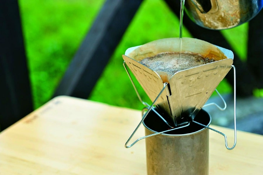 Pour-over style drip