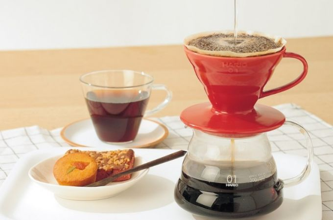 light weight coffee maker