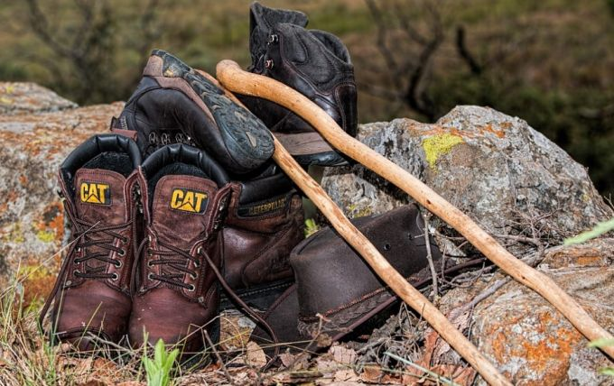Hiking Footwear Walking Boots Leather Shoes