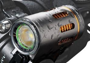 CycleBeam 900 Lumen Long Run Time Bike Light with Warning Blink