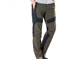 Image result for Singbring Outdoor Lightweight Waterproof Hiking Mountain Pants for Men Women
