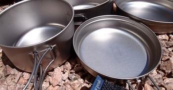 Snow Peak Titanium Compact Cookware Set
