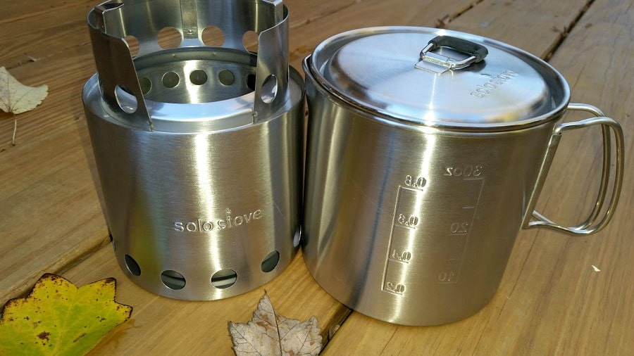 Solo Stove & Pot 900 Combo features
