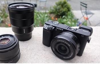 Sony Alpha a6300 ILCE-6300 E-mount 4K Mirrorless Camera