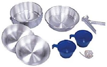 Stansport Deluxe Aluminum Cookware Set