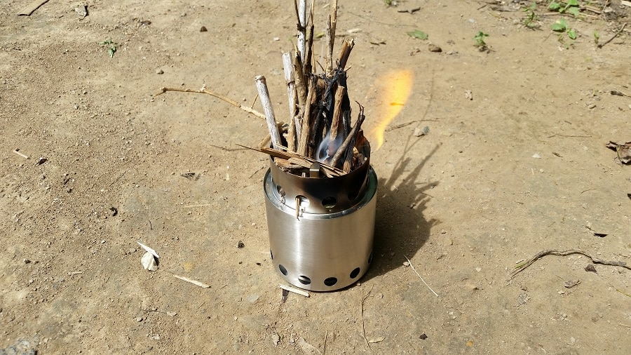 Stove for backpacking