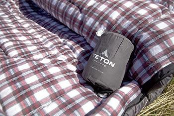 TETON Sports Fahrenheit Mammoth Queen Size Sleeping Bag