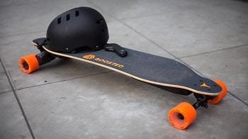 The BY2 Remote Control 4 Wheels Electric Skateboard Longboard