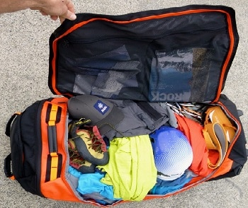 The North Face Rolling Thunder 22-Inch Carry On Bag
