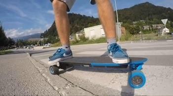The Yuneec E-GO2 Electric Longboard Skateboard