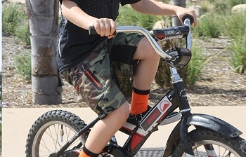 Zoic Junior Ether Bike Shorts
