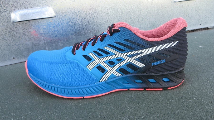 Asics running shoes material