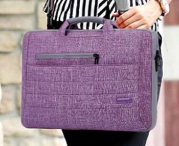 Brinch 15.6 Inch Multi-functional Suit Fabric Portable Laptop Bag