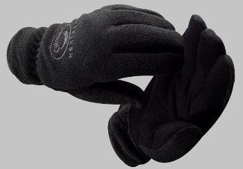 Caiman Suede Deerskin Fleece Gloves