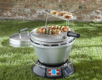 Cook-Air EP-3620BK Wood Fired Portable Grill