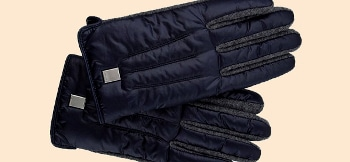 Couronne Padded Wool Gloves
