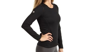 Hot Chillys Micro-Elite Chamois 8K Midweight Long Sleeve Crewneck