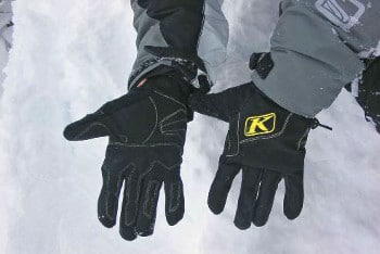 Klim Klimate Snowmobile Gloves