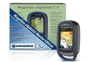 Magellan Explorist 510 Marine Edition