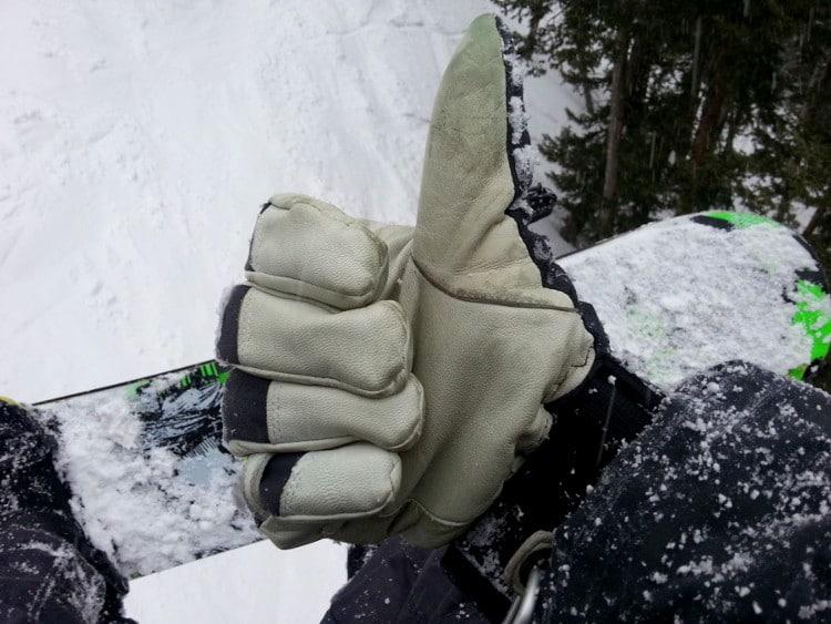 OK for the gloves