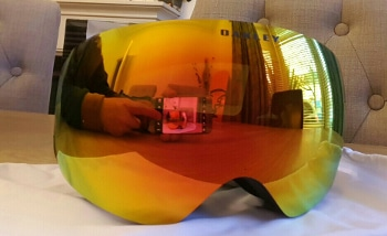 Oakley Flight Deck XM reflection