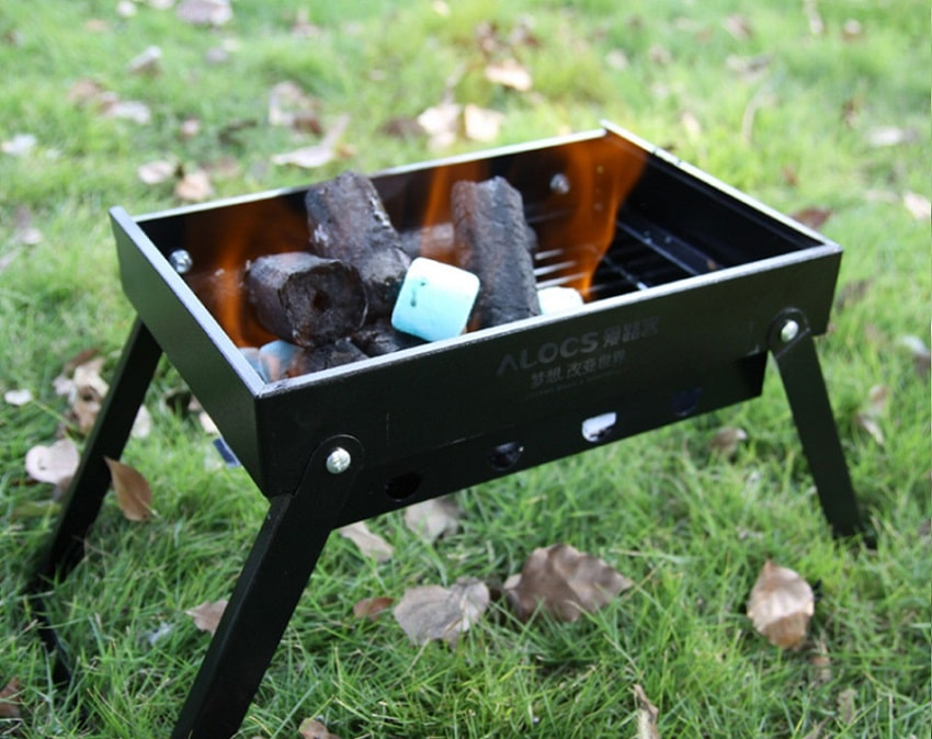 Portable grill outdoor