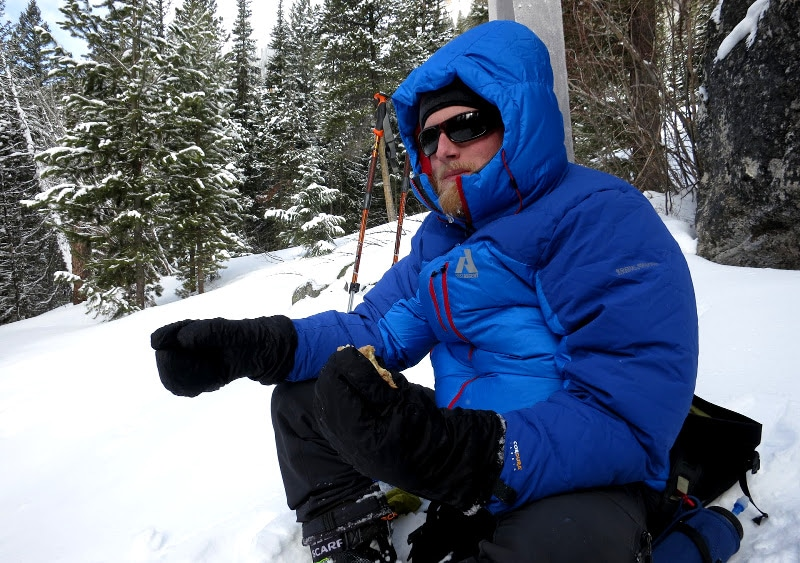 Rest after hitting the slopes