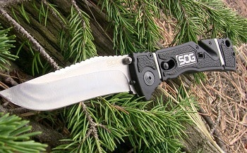 SOG Specialty Trident Elite Knife