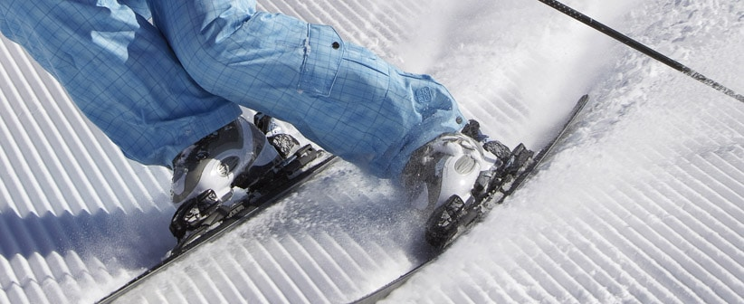 Ski boots flex