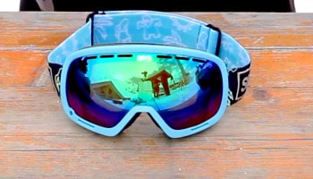 Spy optic goggles