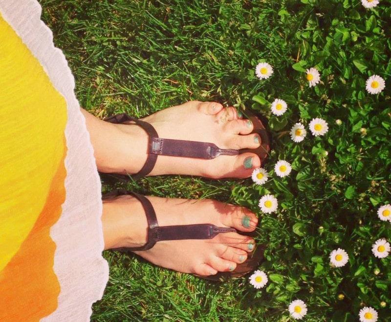Summer walking sandals