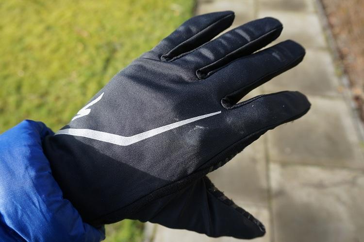 Testing my winter gloves
