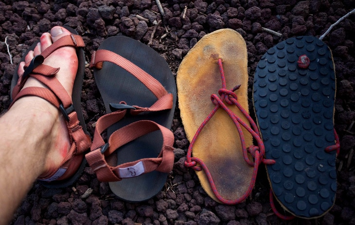 Types of sandals