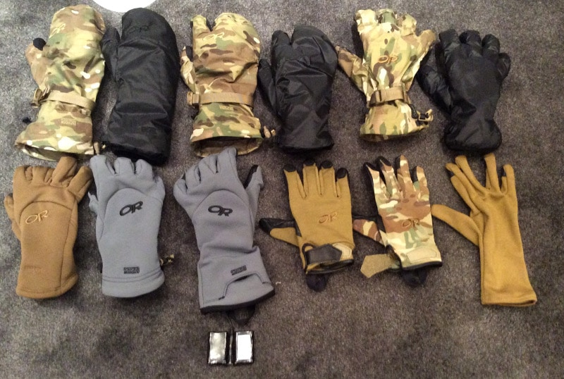 gloves with different cuff lengths