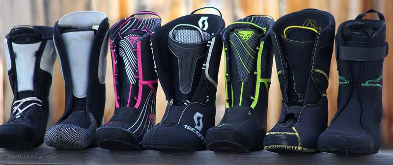 Ski boots liners