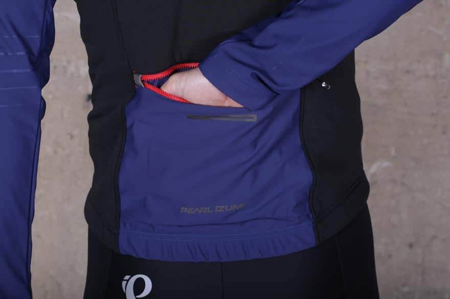 softshell jacket pocket